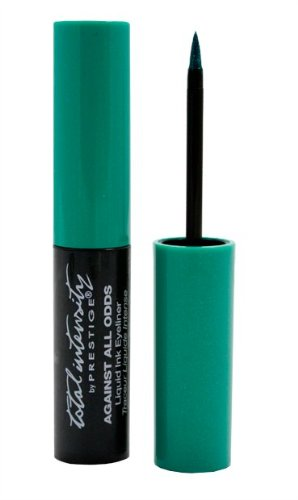 Against All Odds Liquid Ink Eyeliner, B.F.F. (Teal), 0.095 Fluid Ounce by Prestige Cosmetics