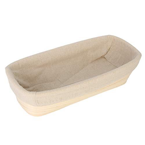 12 Inch Oval Banneton Brotform Rattan Basket Bread Dough Proofing Rising Basket Liner Bread Basket Liner