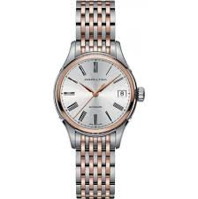 Hamilton Women's Analogue Automatic Watch with Stainless Steel Strap H39425114
