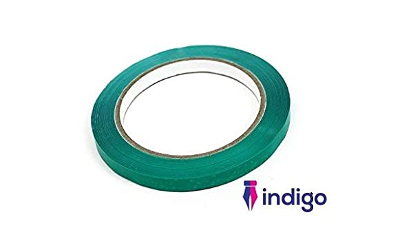 6 rolls  Tape  blue oloured 9mmx66m for bag neck sealers