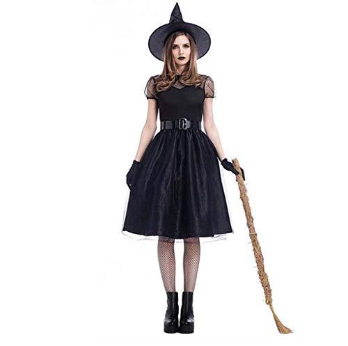 Filme Tv Kostüm Shows Und Aus - MSSugar Halloween Party Rollenspiel Damen Hexenkostüm für Film TV Filme Kostüm,L