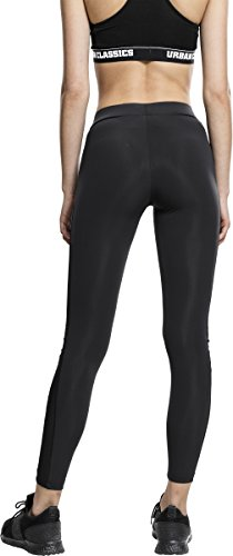 Urban Classics Ladies Tech Mesh Stripe, Leggings Femme Noir (7)