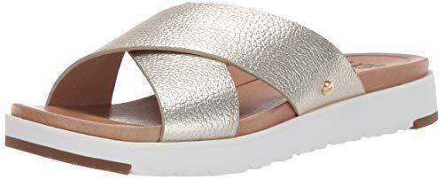 Pantoletten Kari Metallic Pantolette 1102911-GOLD Gold 661900 ()