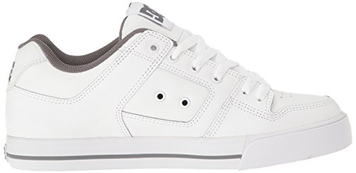 DC Shoes Pure Mens Shoe D0300660, Baskets mode homme WHITE/BATTLESHIP/WHITE