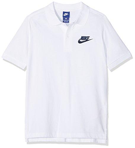Nike Jungen Sportswear Matchup Poloshirt, White/Obsidian, XS Preisvergleich