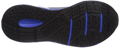 Puma Sequence Jr, Unisex-Kinder Sneakers Grau (01 tradewinds-strong blue)