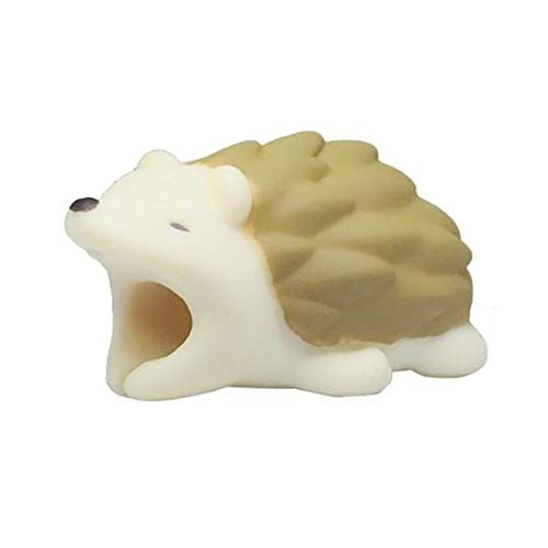 EDTara 3D Cartoon Animal Cable Protector Bite for Cable Line Small Hedgehog