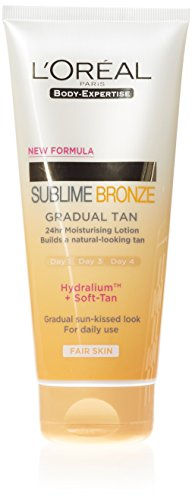 L'oreal paris body expertise sublime bronze autoabbronzante graduale, 200 ml [versione inglese]