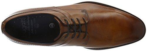 bugatti Herren 311193011100 Derby Braun (Cognac 6300)