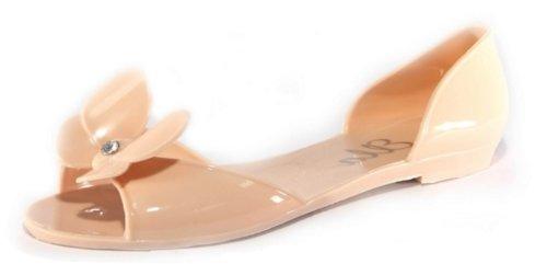 Da Carne Colore Nero Bianco Beige Sandali Ubershoes Donna Nudo Rosa O75Unqw