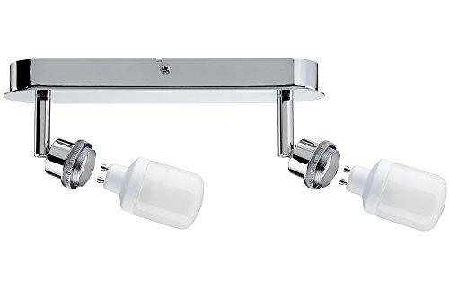 Paulmann DecoSystems Interior Apto para uso en interior GZ10 Surfaced lighting spot 9W B Cromo - Punto de luz (Surfaced lighting spot, GZ10, 2 bombilla(s), 9 W, Cromo)