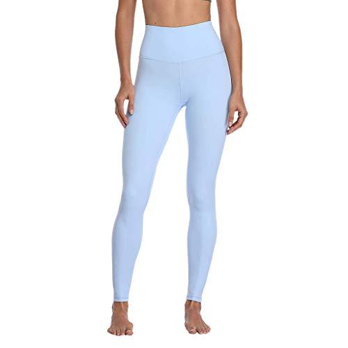 Voicry Damen Hosen Damen Hosen Herren high Waist Hosen für Damen Hosen Chino Hosen für Herren Damen Hosen(Hellblau,Large)