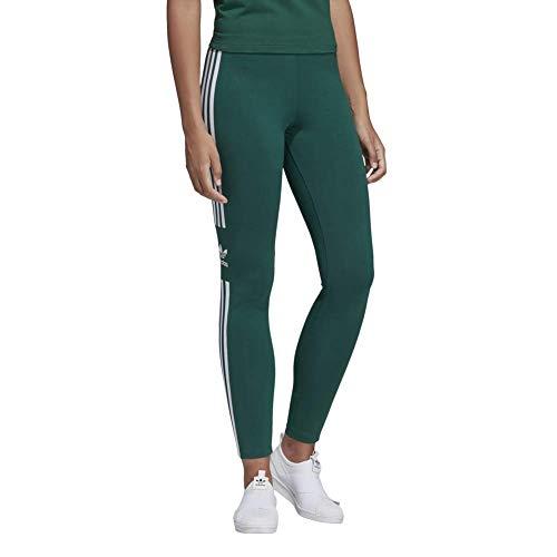 adidas Damen Trefoil Leggings, Collegiate Green, 34