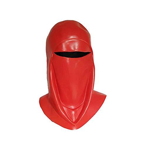 Star Kostüm Hause Machen Zu Wars - Noble Halloween Latex Maske Rot Star Wars Royal Guard Maske Superheld Kopfbedeckung