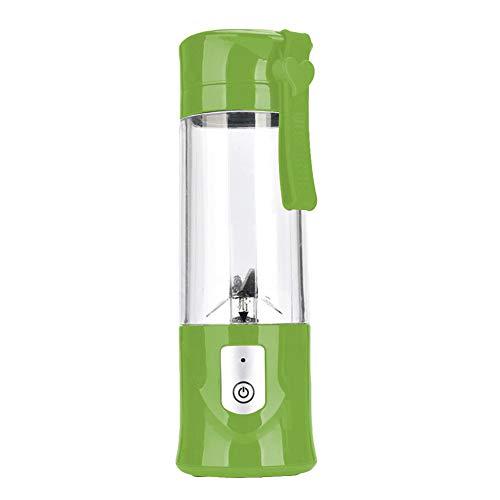 HshDUti Mini tragbare Automatische Grinder Elektrische Fruchtpresse Mixer Squeezer Mixer Machine Green (Schleifer Für Weed Green)