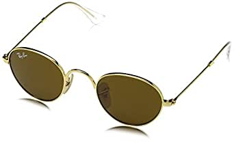 Ray Ban Unisex Sonnenbrille RJ9537S, Gr. Small (Herstellergröße: 40), Gold (Gestell: Gold, Gläser: Braun Klassisch 223/3)