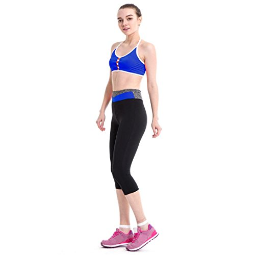 Villasa -  Pantaloni sportivi  - Donna Blue