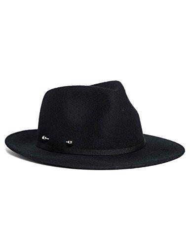 Replay Damen Panamahut AW4189.000.A0016, Schwarz (Black 98), Large