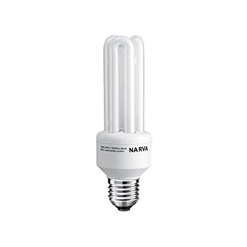 Narva lampadina a risparmio energetico KLE 3U 15W/827, luce bianca