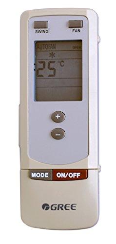 Telecomando condizionatore Gree, Artel, Unical, Tasaki ed altri Y502 - Y512 funziona con climatizzatore - pompa di calore