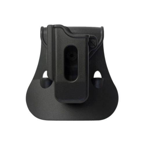 IMI Defense ZSP07 Einzelmagazintasche verstellbar drehbar drehung Single Magazine Polymer Pouch für Walther P88/P9; Walther PPQ M1 (Classic), M2, SIG SAUER 226, 229, MK25, S&W M&P 9/.40/.357, Springfield XD 40/9,