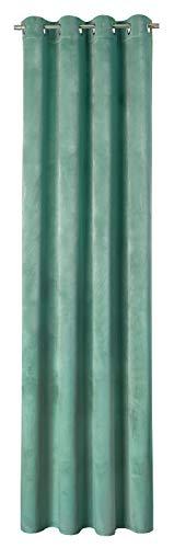 ESPRIT Vivide Ösenvorhang Gardinen Vorhänge Stores - Größe 140 x 250 cm - Farbe beige/Grey/lightblue/Mint/Rose/Sand -