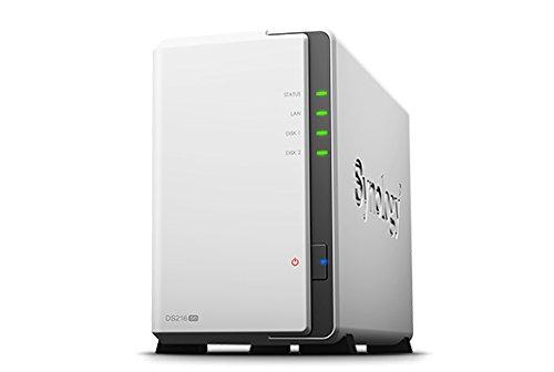 Synology Disk Station DS216se - NAS-Server - 2 Schächte, DS216SE/WD20EFRX