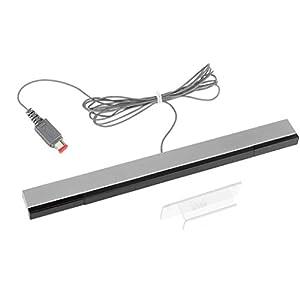Wii Sensor Bar Lavuky WS04 Wii Bewegungsmelderleiste mit Kabel für Nintendo Wii/Wii U Konsole