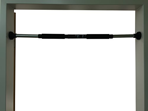 Easy Klimmzugstange inklusive Handpolster - belastbar bis 100 kg - ausziehbar von 70 cm bis 92 cm
