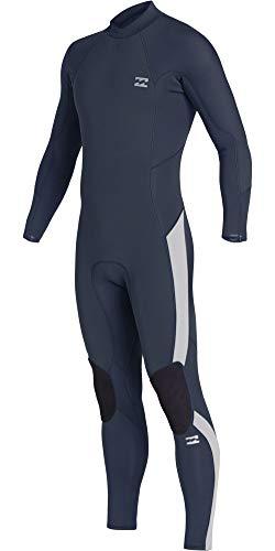 BILLABONG Junior Furnace Absolute 4/3mm Back Zip Wetsuit Blue Q44B03 Age - 14Y