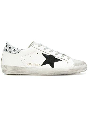 GOLDEN GOOSE Damen G32ws590d89 Weiss Leder Sneakers (Goose Leder)