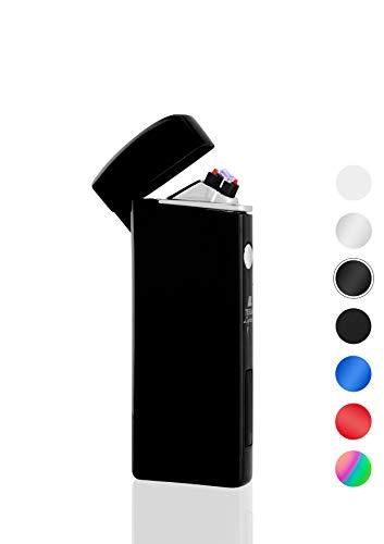 TESLA Lighter T14 Double Arc Schwarz