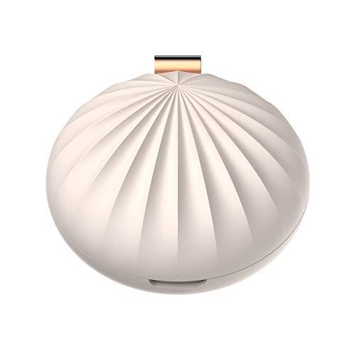 SUNSHINE HOME&3 Diffusori di Oli Essenziali, diffusori di aromaterapia ad ultrasuoni con diffusore di aromi, Batteria agli ioni con Alimentazione USB e incorporata, (Bianco, Rosa),White