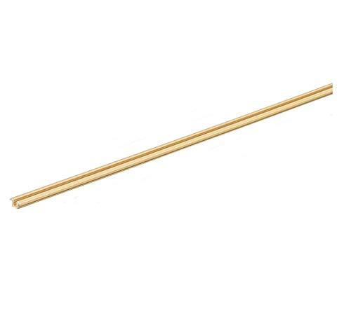 Gedotec Laufschiene für Schranktür Führungsschiene für Glas-Tür Schiebetürbeschlag für Holz-Tür - Slide Line 55 | Kunststoff beige | 2000 mm | 1 Stück