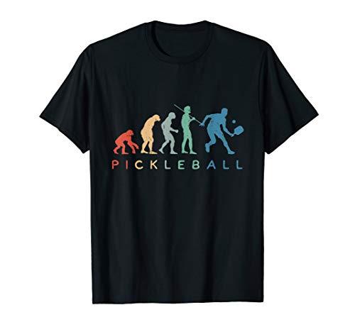 Lustiger Pickleball Evolution Spieler Coach Dink Smash T-Shirt