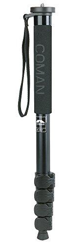 COMAN Einbeinstativ DK-287A Alu Monopod Max 1,76m Packmaß 48cm max 10kg
