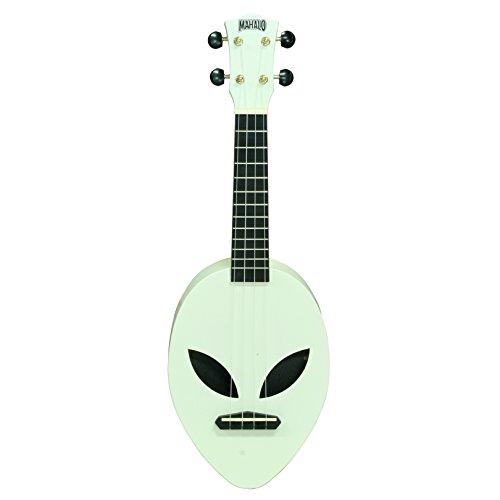 Mahalo ukulele Mahalo creative Series ukulele (MC1AL Mbu) Ukulele soprano Glow-in-the-Dark Green