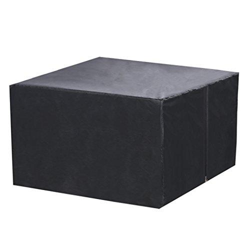 Preisvergleich Produktbild cooshional Schutzhülle Gartenmöbel Abdeckung Abdeckhaube Oxford für Rechteckige Sitzgarnituren, Gartentische und Möbelsets
