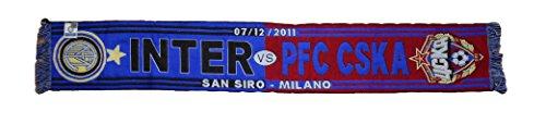 Bufanda Inter vs CSKA Moscú UCL Champions League 2011/12