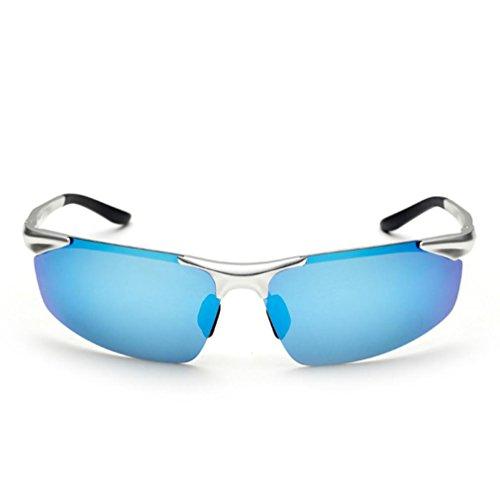 Vier Helle Eisen (Helle Aluminium-Magnesium-polarisierte Sonnenbrille Art und Weise kühle Sonnenbrille der Männer)