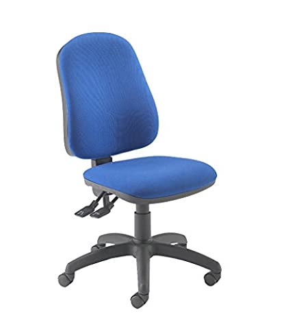 Office Hippo 2 Lever Ergonomic Office Chair, Fabric, Royal Blue