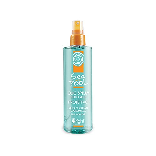 Huile Spray Protection Solaire Après Soleil Sea and Pool Bright chlore salsedine 150 ml