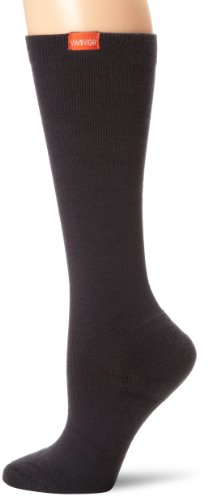 Vim & vigr Stilvolle Kompression Socken – Frauen Schwarz Socken, damen Herren, Black (Wool) (Wool Herren Socks Apparel)