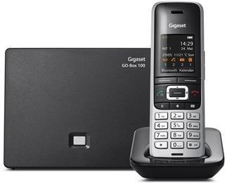 """Teléfono inalámbrico, Manos Libres, Bluetooth, Gigaset, con Auricular Sennheiser EZX70, Pantalla en Color 1,8"""", 500 contactos, Toma Auriculares. S850+ BT."""
