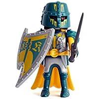 Sobre Figura de Playmobil Serie 13 Caballero Verde
