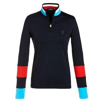 golfino-damen-dry-comfort-jersey-troyer-gr-40-schwarz