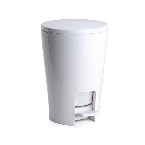 TATAY 4434901 Cubo baño Blanco 19.00x21.00x28.20 cm