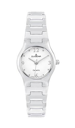 Dugena Damen-Armbanduhr Keramikuhren Analog Quarz Keramik 4460508