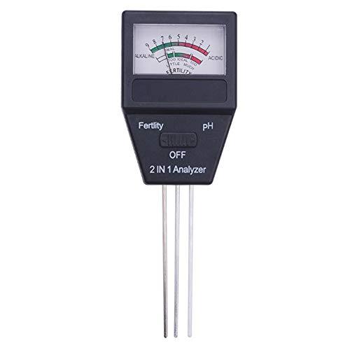 LYCOS3 Bodenmessgerät, 2-in-1 Bodendünger, Analysator, pH-Wert, Säuren-Alkalinitätsprüfer,