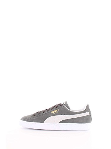 Puma Scarpe Unisex Suede Classic 365347 (42.5-05 Castor Grey White) bea23c377f2